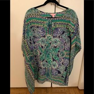 Lilly Pulitzer Lindamarie Caftan, XS/S